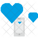 Phone Love Sms Icon