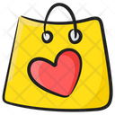 Favourite Shopping Tote Bag Shopping Bag Icon