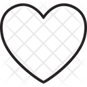 Favourites Heart Heart Shape Icon