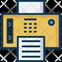 Fax Fax Machine Photocopier Icon