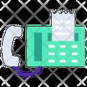 Fax Call Receipt Telephonebill Icon