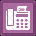 Fax Atm Bank Icon