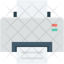 Fax Inkjet Printer Icon