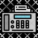 Taxes Fax Phone Call Icon