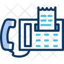 Faxv Fax Communication Device Icon