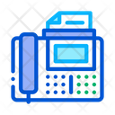 Fax Voip Calling Icon