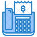 Phone Fax Bill Icon
