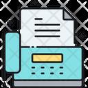 Mfax Fax Paper Icon