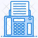 Fax Electronic Machine Facsimile Icon