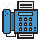 Telephone Fax Phone Icon