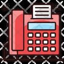 Fax Facsimile Output Device Icon