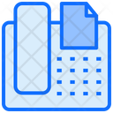 Fax Telephone Call Icon