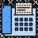 Fax Fax Machine Printer Icon