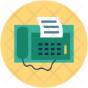 Fax Faxing Machine Icon