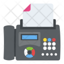 Fax Machine Icon