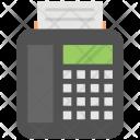 Fax Machine Billing Icon