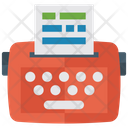 Fax Machine Faxing Fax Line Icon