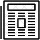 Fax Machine Phone Icon