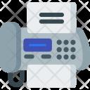 Fax, Machine Icon