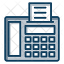 Fax Fax Machine Facsimile Icon