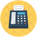 Fax Machine Facsimile Fax Icon