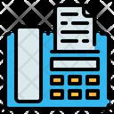 Fax Machine Telephone Icon