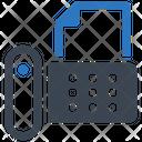 Fax Machine Office Phone Icon