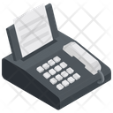 Fax Machine Billing Machine Receipt Icon