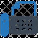 Fax Machine Phone Office Icon