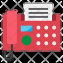 Fax Phone Machine Icon