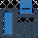 Fax Machine Faxx Machine Icon