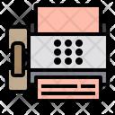 Fax Print Paper Icon