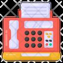 Facsimile Machine Fax Machine Telefax Icon
