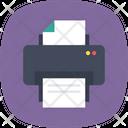 Printer Fax Printing Icon