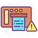 Fax Warning Icon