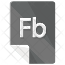 Fb File Format Icon