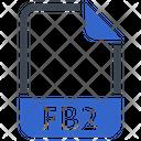 Fb 2 Document File Icon