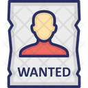 Fbi Wanted Poster Icon
