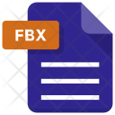 Fbx File Document Icon