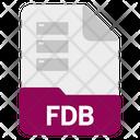 Fdb file Icon