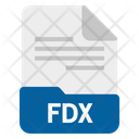 Fdx file Icon