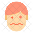 Fear Emotion Face Icon