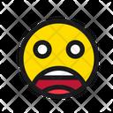 Fear Face Scream Face Fear Icon