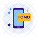 Fomo Fear Of Missing Out Mobile Icon