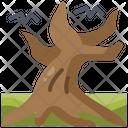 Tree Fear Horror Icon