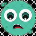 Fearful Emoji Emoticon Emotion Icon