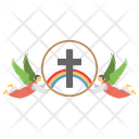 Feast Ascension Holiday Icon