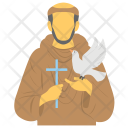 Feast Christian Priest Icon