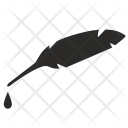 Feather Ink Pen Icon