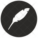 Literature Feather Ink Icon